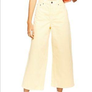 NWT Topshop Wide Leg Jeans